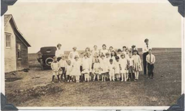 Pupils of Maynard School - Teacher - Charlotte Anderson Year: 1919