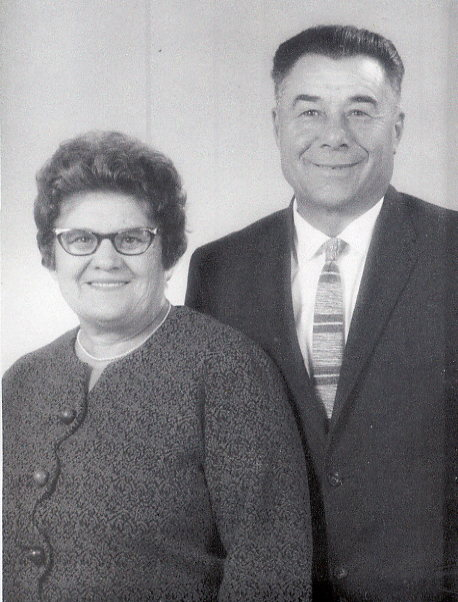 Dora and Dmytro Belyk Year: circa 1960