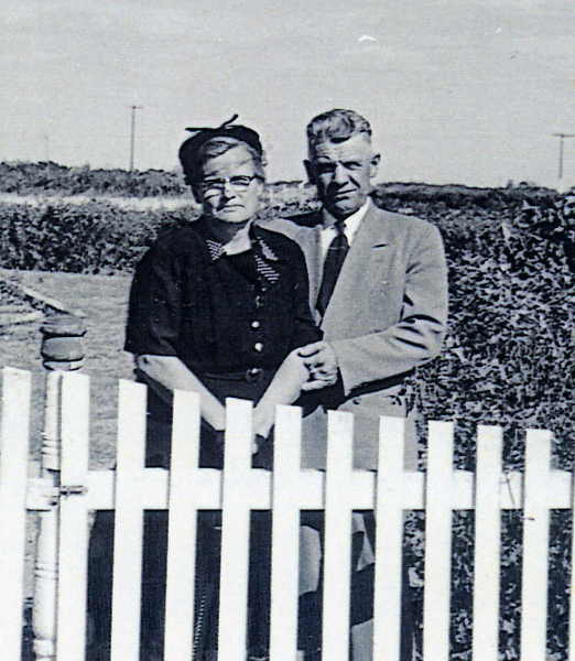 Maria and Bernhard at home in Osler