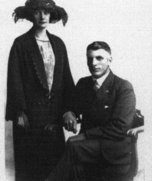 Mary Hazel Sherry & John Edward Coates Wedding 1923