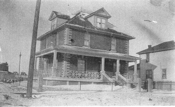 The Dorrell House in Moose Jaw Year: 1911 Place Name: Moose Jaw, SK A winter shot; some snow on the roof