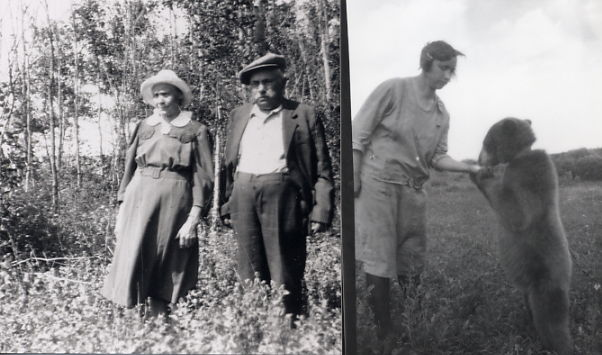 Mathilda & Rudolph Fennig; Hattie & Tame Bear