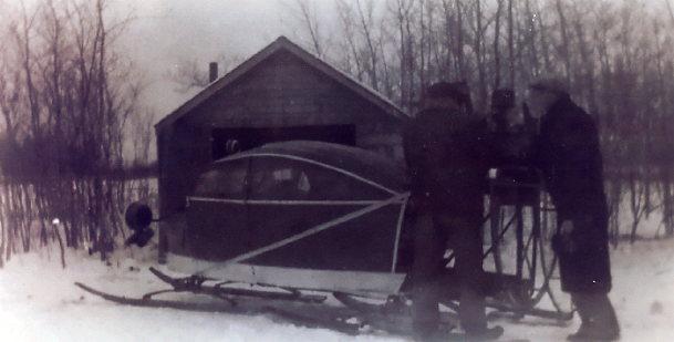 Snowplane Year: 1939 Place Name: Nipawin