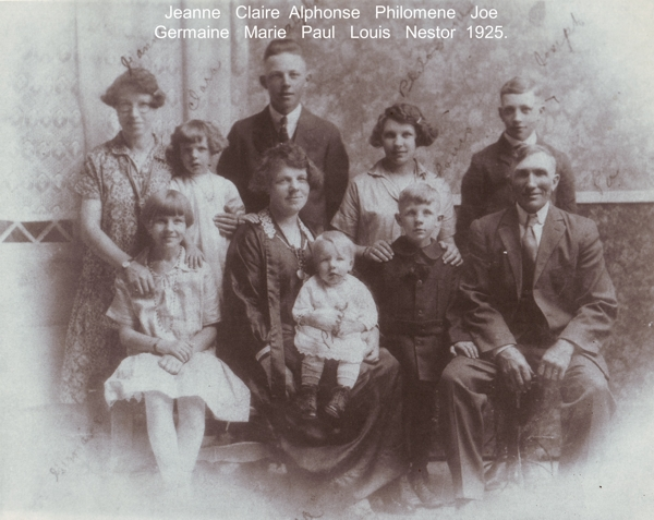 Gregoire Family Photo Year: 1923