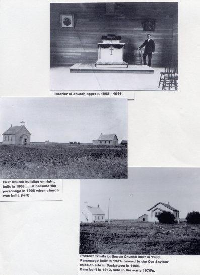 Church and parsonage Year: 1906-1912 Place Name: Saskatoon