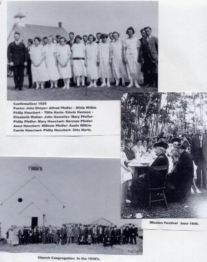 Confirmation, Congregation, Mission Festival Year: 1925, 1930, 1940 Place Name: Saskatoon