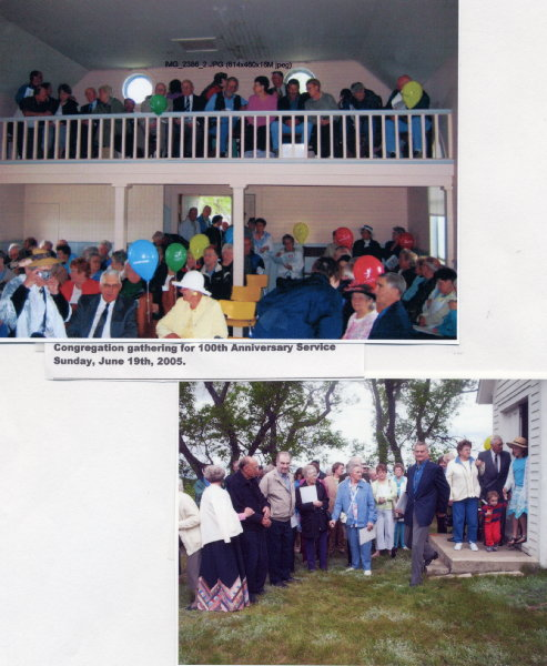 100th Anniversary Service Year: 2005 Place Name: Saskatoon, SK