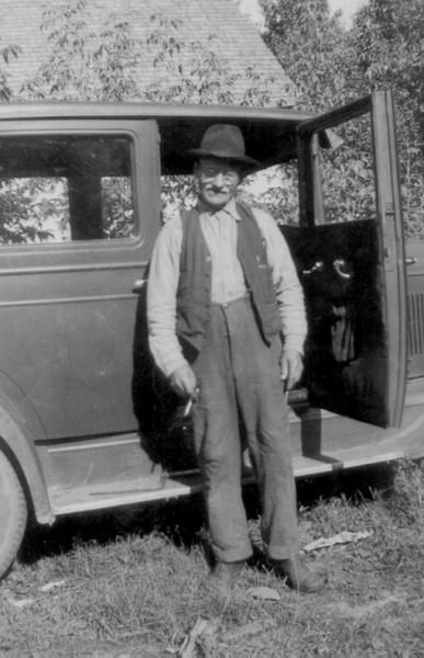 Jacob Rutkowski Year: ca 1930 Place Name: Preeceville Image Source: Unknown