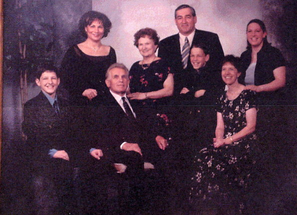 Szabo Family Year: 2004 Sept. 2004; Louis (Lajos) and Ilona 50th Wedding Anniversary. With: son Louie Daughter: Eileen, Daughterinlaw : Marybeth and Grandchildren: Jennifer, Christopher and Alexander.
