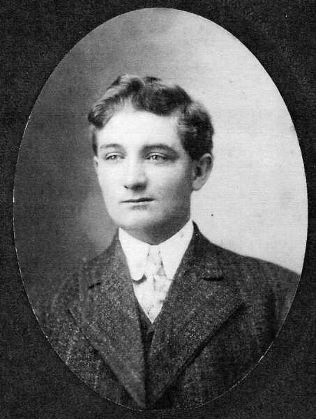 John Richard Harrington, 20 years Year: 1907