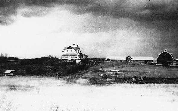Frank & Brigetta Leier Homestead Year: c1928 Place Name: Salt Lake, SK