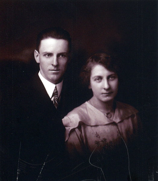 Wedding Photo of Russell and Janet Martin, Sept 18, 1917 Year: 1917 Place Name: Ottawa, ON