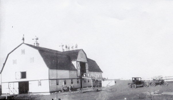 Mickleborough Barn Year: 1920's Place Name: Grand Coulee Popular barn dance destination near Regina