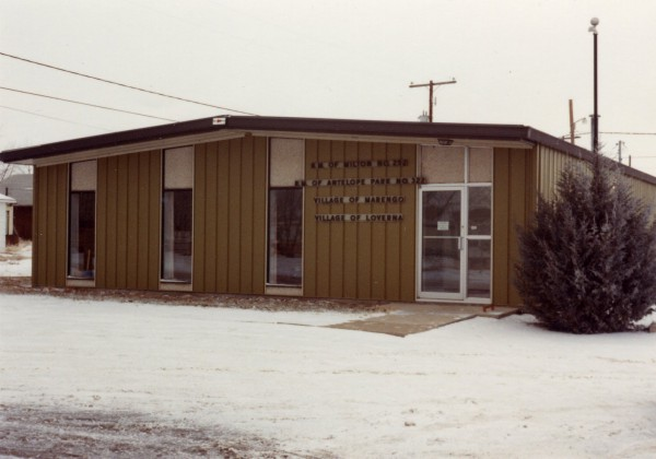 New Office New office of Milton & Antelope Park and Villages of Marengo & Loverna.