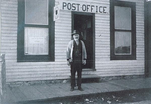 Alexander Murdoch, Postmaster, Girvin, SK Place Name: Girvin, SK