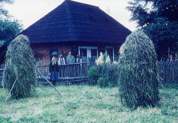 Niculai's Birthplace Year: 1973 Place Name: Arbore, Bucovina, Romania Niculai Petrar was born in this house in 1887
