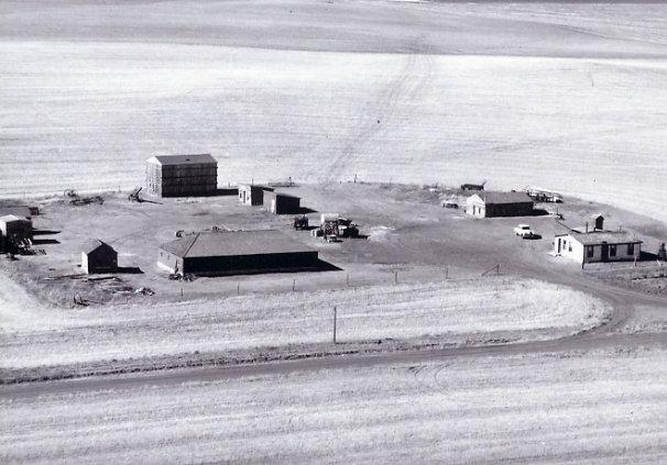 Sidney W.C. Quinney Farm Year: 1950's SE 24-25-16 W3