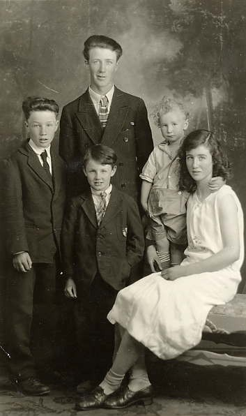 The Children Place Name: Speers, SK Olive Patricia Russell George Paul Russell Patrick Desmond Malachy Russell Joseph Vincent Russell Charles Russell