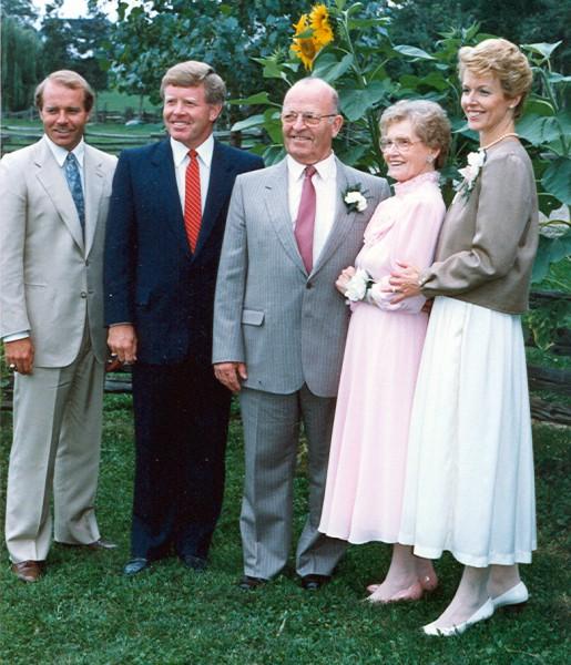 The Schoenhals Family Circa 1988 Year: 1988