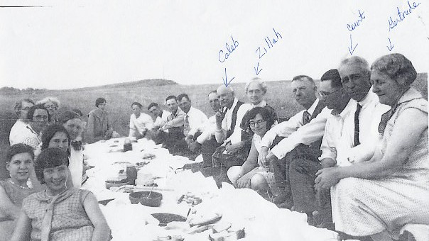 Caleb's 80th Birthday Picnic Year: Aug. 9, 1929 At the river