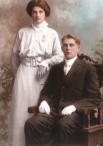 The Newly Weds, Sam & Irene Shaver Year: 1914
