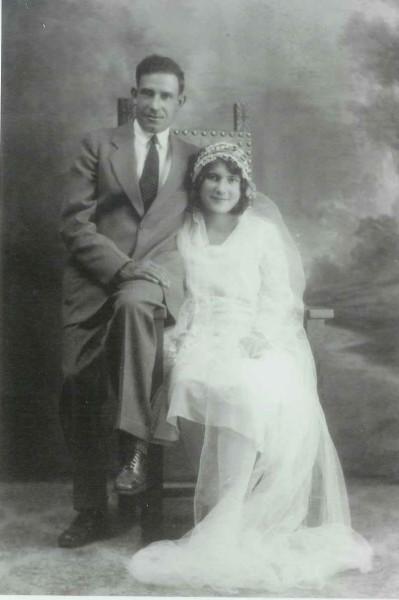 Elias Shklanka and Xenia Cherney Year: 1930