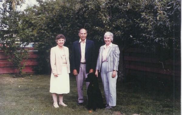 Olga Roman and Diana Shklanka Year: 1986