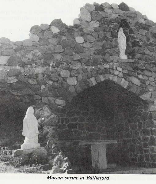 Marian Shrine at Battleford Place Name: Battleford, SK