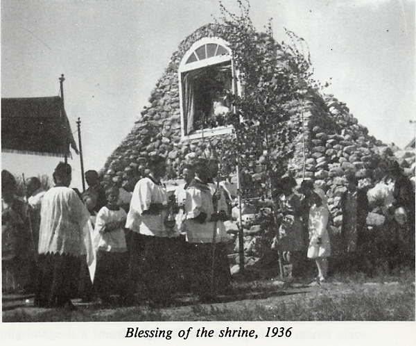 Blessing of the Shrine Year: 1936 Place Name: Leader, SK