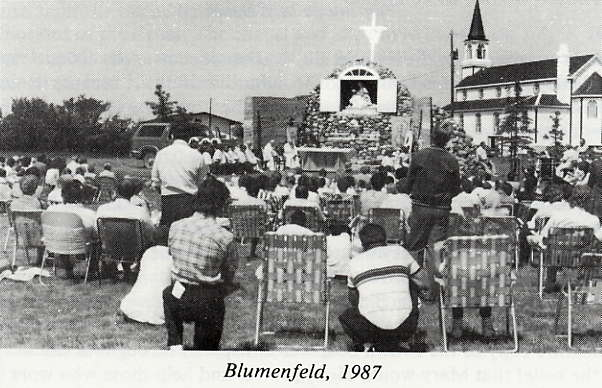 Blumenfeld Year: 1987 Place Name: Leader, SK