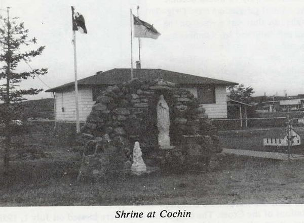Shrine at Cochin Year: 1955 Place Name: Cochin, SK