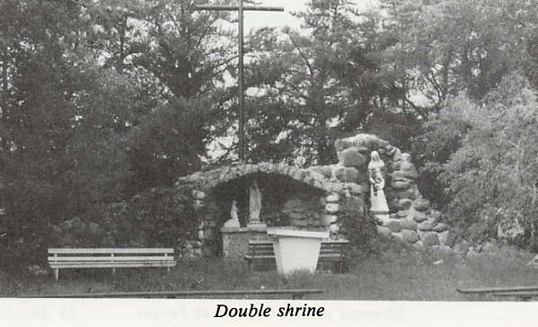 Double shrine Place Name: Isle a la Crosse, SK