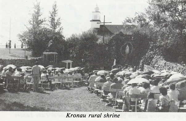 Kronau rural shrine Place Name: Kronau, SK
