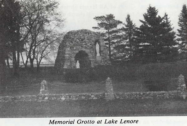 Memorial Grotto at Lake Lenore Place Name: Lake Lenore, SK