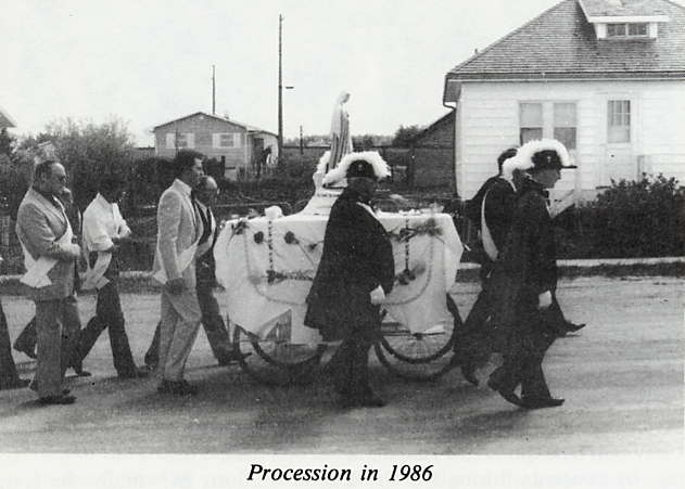 Procession Year: 1986 Place Name: Lestock, SK