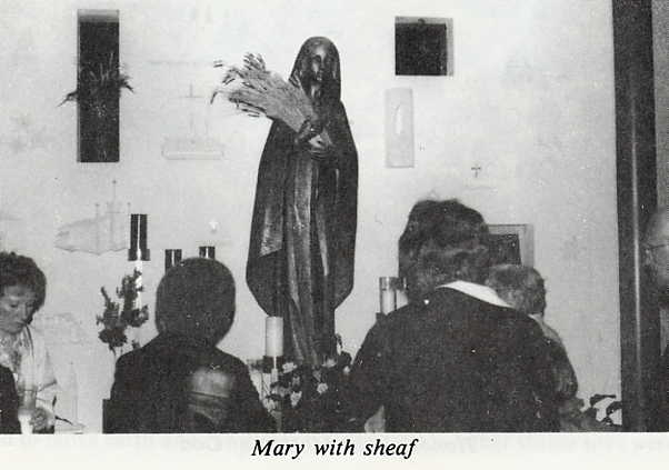 Mary with sheaf Year: 1982 Place Name: Saskatoon, SK