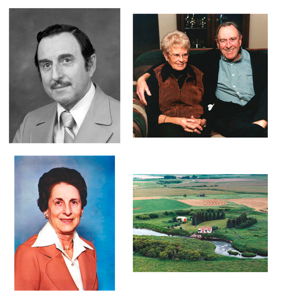Portraits 2 Top left: Jack Smith Top right: Jerry & Betty Smith Bottom left: Elizabeth Ross Bottom right: Family property