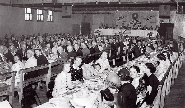 The Pioneer Banquet - Saskatchewan Julilee Year: 1955 Place Name: Whitewood